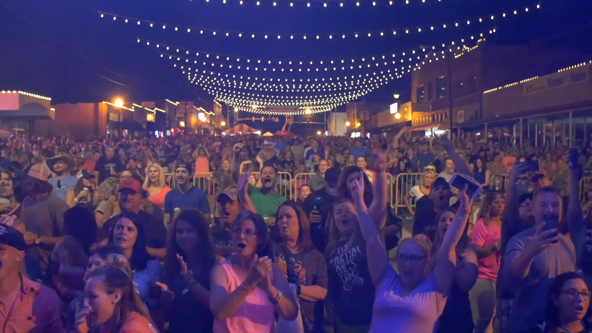 crowd at rock the route