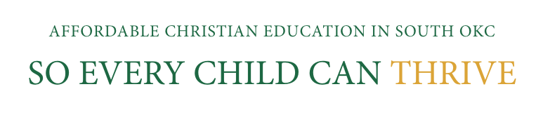Affordable Christian Education in South OKC so every child can thrive