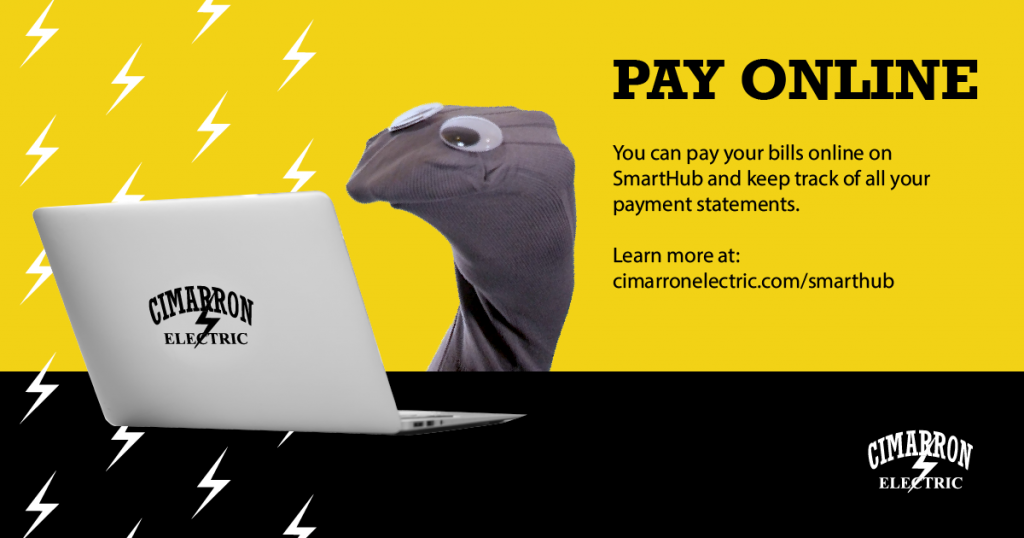 pay online! You can pay your bills online on SmartHub and keep track of all your payment statements.