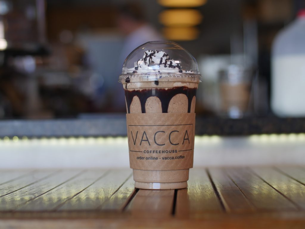 Vacca Coffeehouse Frappe