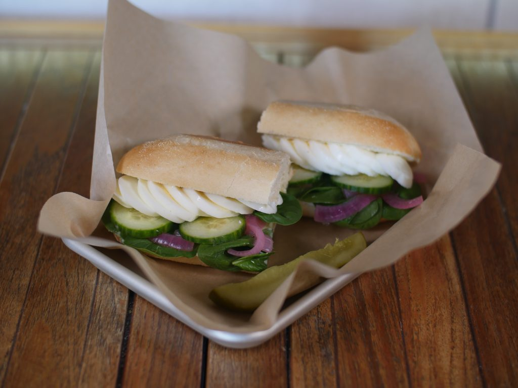 Vacca Coffeehouse Sandwich